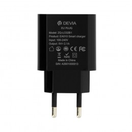 Chargeur-usb-2.1A-Devia-charge rapide-6938595300196-300196