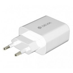 Chargeur-usb-2.1A-Devia-charge rapide-6938595300189-300189